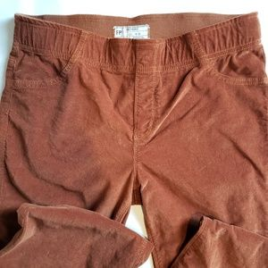 Free People Pull-on Corduroy Flare Size 30 W